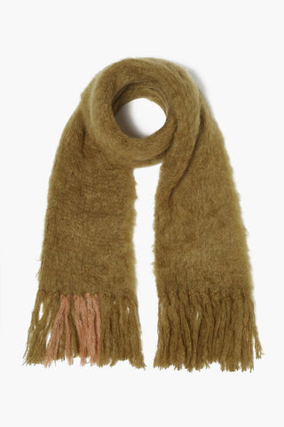 Fir Green Mohair Scarf