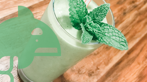 The Keto Shamrock Shake