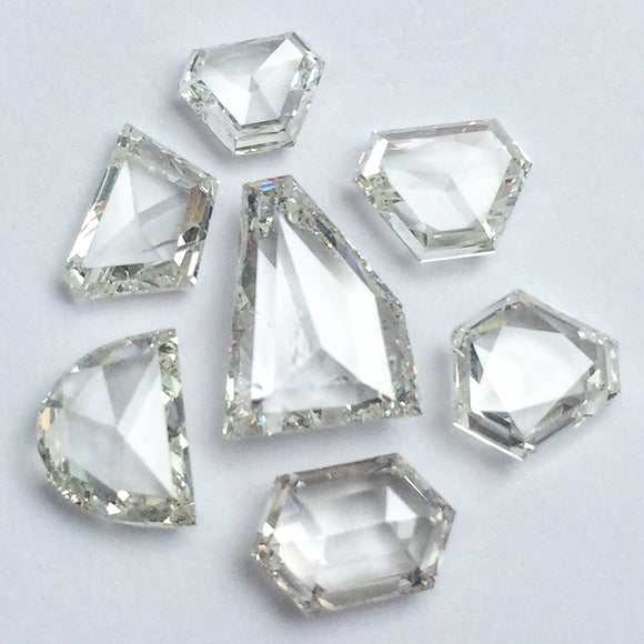 White Rosecut Diamonds