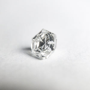 0.47ct 4.78x4.16x3.44mm GIA VVS2 D Hexagon Step Cut DDL3090