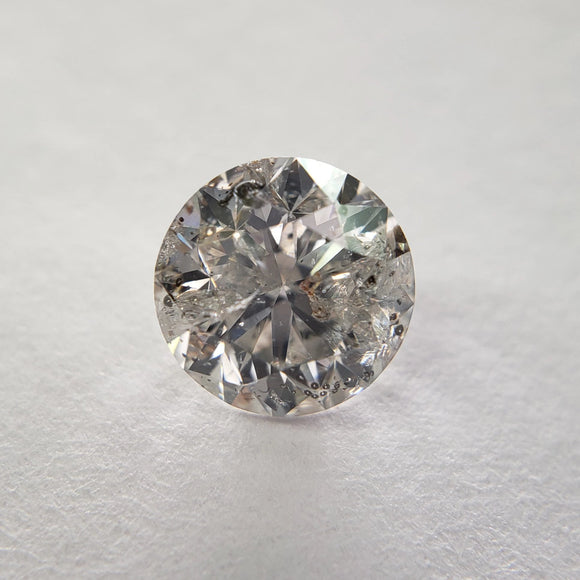 1.09ct 6.35x6.29x4.21mm I3-H Round Brilliant DDL2018