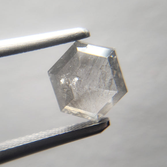 1.09ct 6.70x5.88x2.99mm Hexagon Rosecut 40138