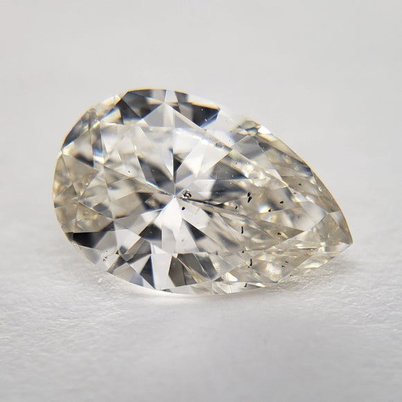 0.71ct 7.67x5.00x2.94mm SI2 Pear Brilliant DDL4378