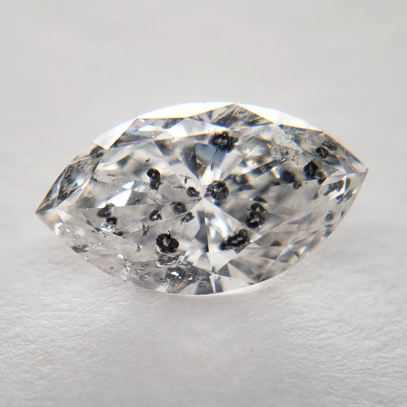 1.01ct 9.37x5.43x3.26mm I2/G Marquise Cut RR4078