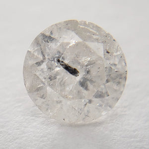 0.55ct 5.13x5.14x3.27mm Icy Grey Round Brilliant IC1011