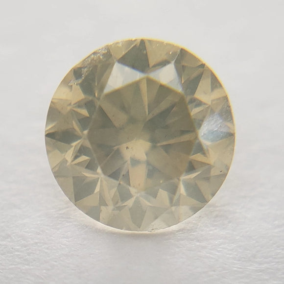 0.62ct 5.20x5.18x3.50mm Icy Champagne Round Brilliant IC-CH-20