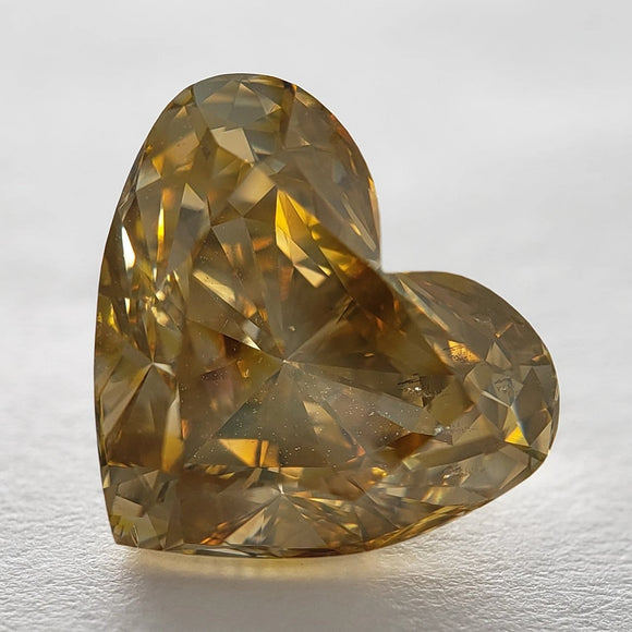 3.13ct 9.28x8.24x6.01mm GIA Heart Brilliant F-089