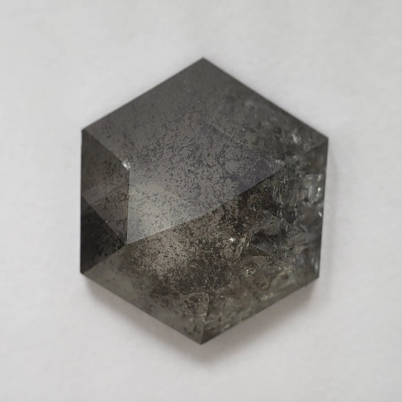 1.90ct 8.07x8.02x3.18mm Hexagon Rosecut SPRC1000