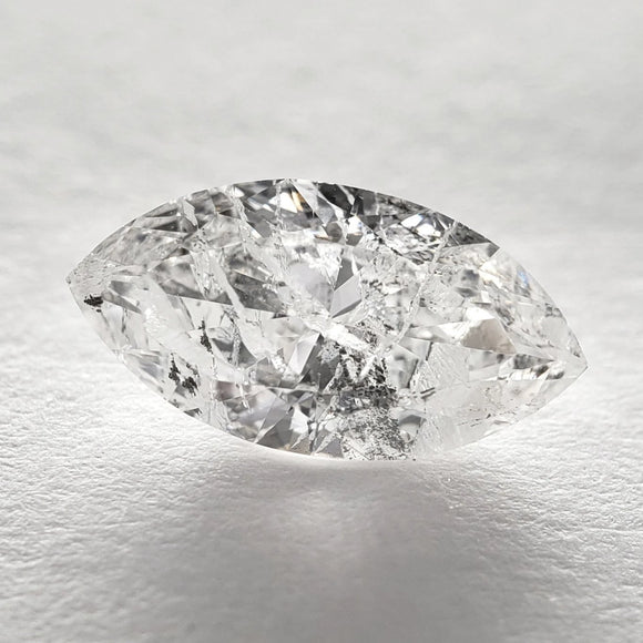 1.00ct 5.29x10.13x3.12mm Marquise Brilliant Cut SP1050