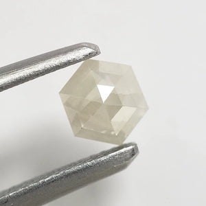 0.29ct 4.51x3.99x1.90mm Hexagon Rosecut RUS-15-2