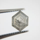 2.39ct 8.54x6.69mm Hexagon Shape Rosecut SPGEO5-115