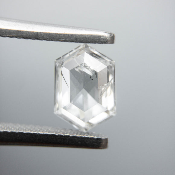 0.73ct 7.42x5.14x2.24mm I2 H/I Hexagon Rosecut 40005-05
