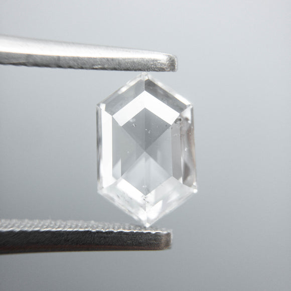 0.77ct 8.40x5.34x1.96mm SI3+ E/F Hexagon Rosecut 40005-08