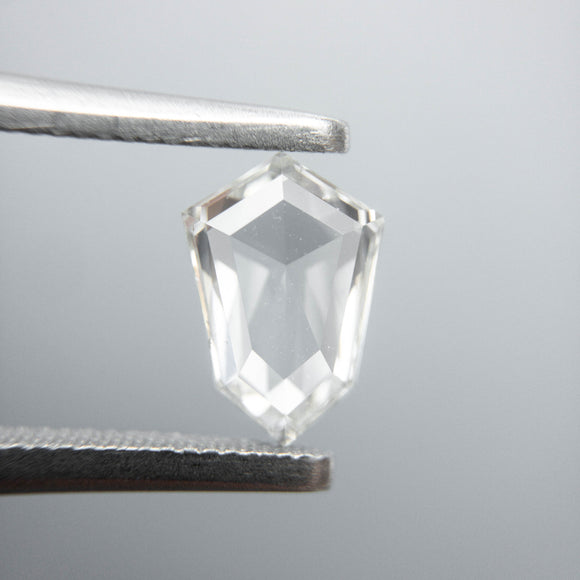 0.79ct 8.04x5.49x2.23mm VS2/SI1 J+ Shield Rosecut 40005-15
