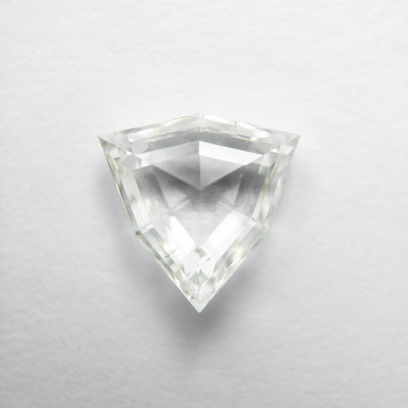 0.92ct 7.21x7.27x2.67mm Shield Rosecut 40009