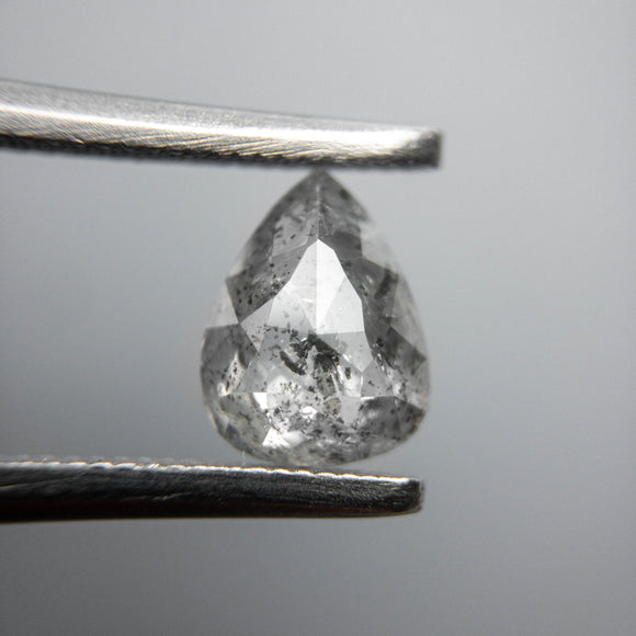0.91ct 7.64x5.74x2.65mm Pear Rosecut 40068-01