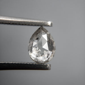0.80ct 7.00x5.16x2.71mm Pear Rosecut 40068-10