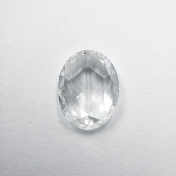 0.63ct 6.97x5.36x1.90mm VS1/VS2 F Oval Rosecut 40082-06