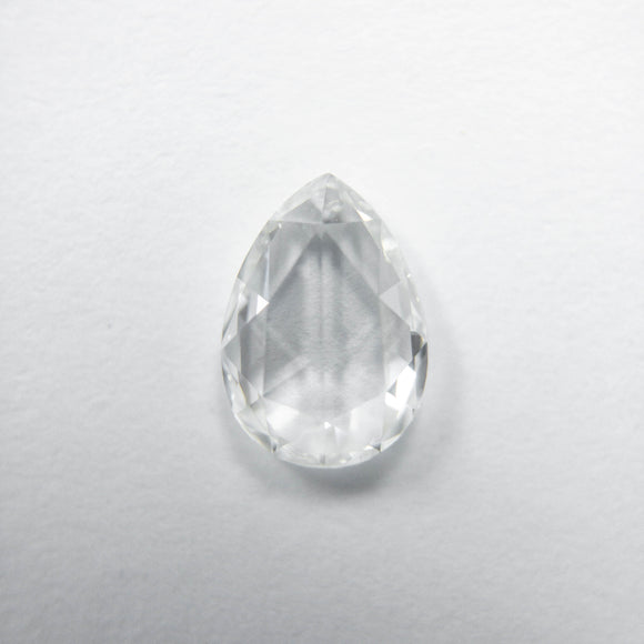 0.59ct 6.95x4.93x1.98mm VS1 F Pear Rosecut 40082-11