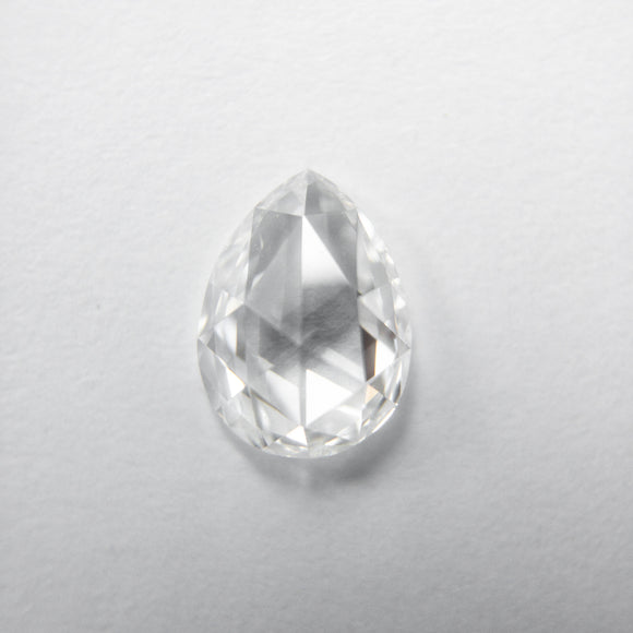 0.63ct 6.94x5.17x2.25mm VS1 F Pear Rosecut 40082-14