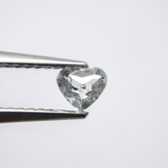 0.35ct 4.18x4.76x2.30mm Heart Shape Rosecut CND24-201