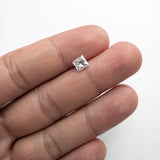 1.00ct 5.73x5.43x3.81mm GIA SI2 F Princess Cut DDL2042