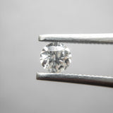 0.31ct 4.38x4.35x2.65 I1 F Round Brilliant DDL3053