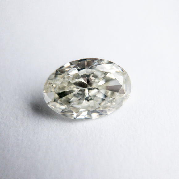 0.70ct 7.14x5.38x2.68mm SI2 J Oval Brilliant DDL4273