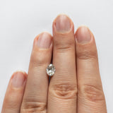 1.03ct 7.59x5.57x3.71mm SI2/SI3 Oval Brilliant DDL4474