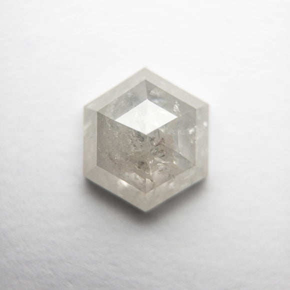 1.52ct 7.94x6.84x3.37mm Hexagon Rosecut DDL4695