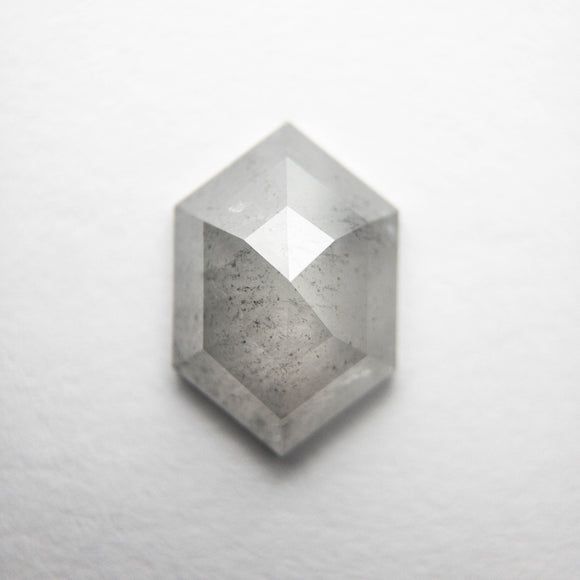1.35ct 9.50x6.45x2.73mm Hexagon Rosecut DDL4698