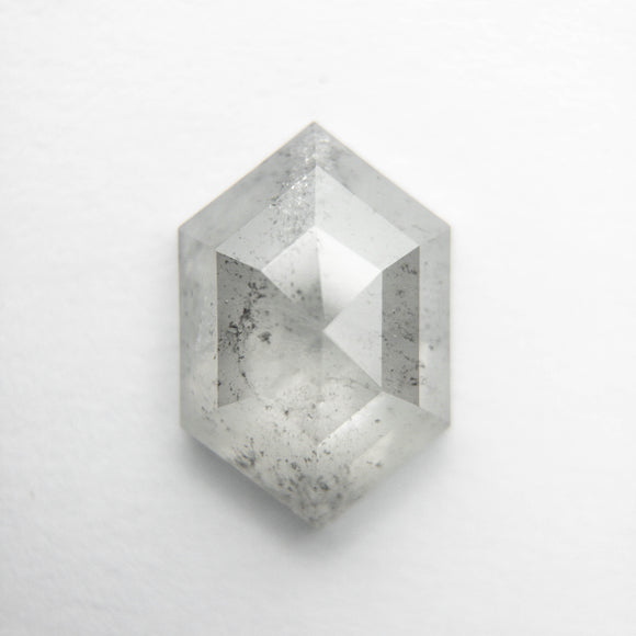 1.37ct 9.46x6.40x2.81mm Hexagon Rosecut DDL4705