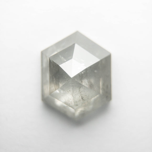 1.60ct 8.57x6.65x3.46mm Hexagon Rosecut DDL4707