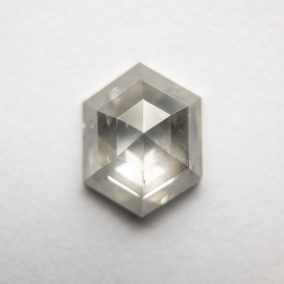 1.60ct 8.57x6.68x3.47mm Hexagon Rosecut DDL4800