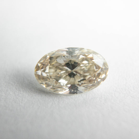 1.02ct 8.36x5.37x3.32mm Champagne Oval Brilliant DDL4837