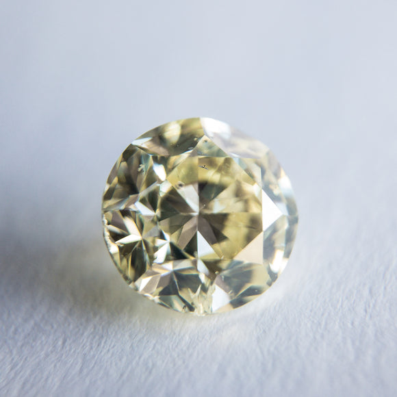 2.00ct 7.46x7.41x5.01mm Round Brilliant F-025