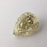 2.06ct 9.10x6.62mm Pear Shape Brilliant Cut F-122 hold Anueva