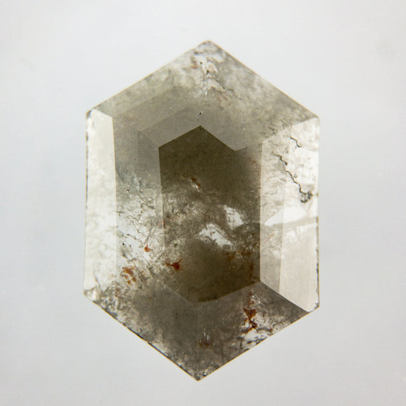 2.25ct 12.61x8.74mm Hexagon Slice GEO1-295 MISSING