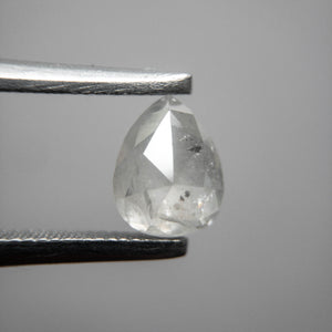 0.99ct 6.82x5.32x3.19mm Pear Rosecut IC32-164