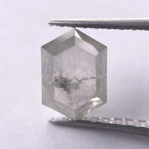 1.87ct 8.50x6.01x3.60mm Hexagon Rosecut GR1029