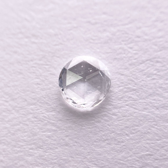 0.12ct 3.8mm White Round Rosecut RR-RC-5