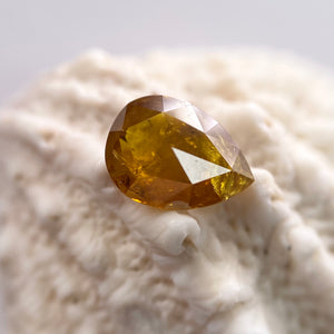 0.57ct 6.40x4.70x2.25mm Pear Rosecut RUS1504