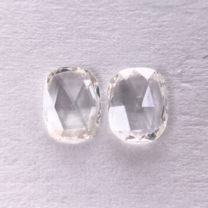 0.43cttw SI1 Matching Pair of Oval Rosecut RR3249