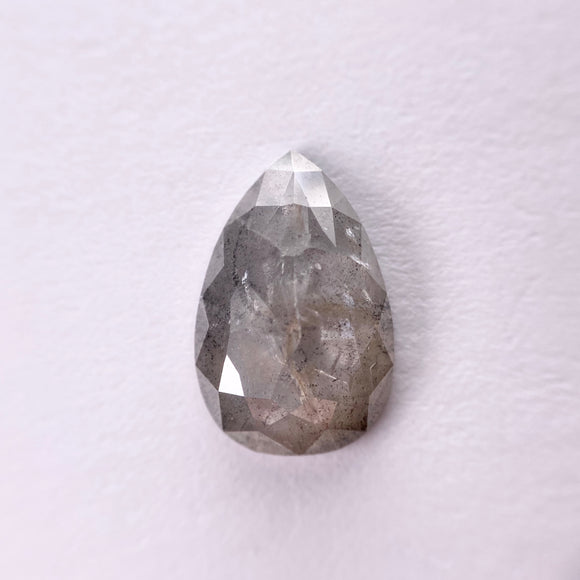 2.50ct 12.80x8.80x2.60mm Pear Rosecut SP1244