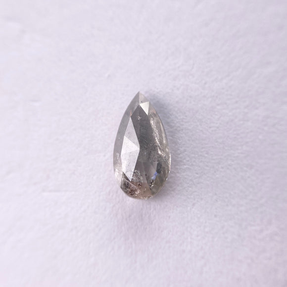 0.83ct 8.83x4.69x2.57mm Pear Shape Rosecut GR1018