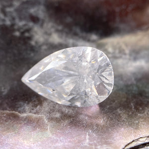 0.84ct 8.54x5.32x3.21mm I1 D Pear Brilliant DDL3065