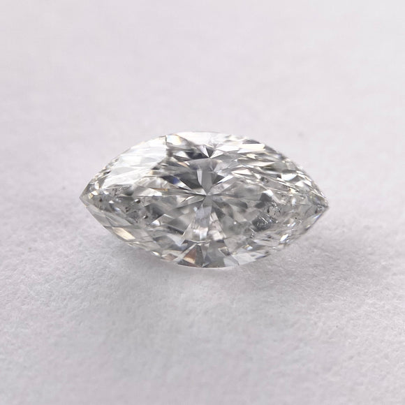 0.53ct 7.42x4.11x2.86mm SI2-H Marquise Brilliant Cut DDL4363
