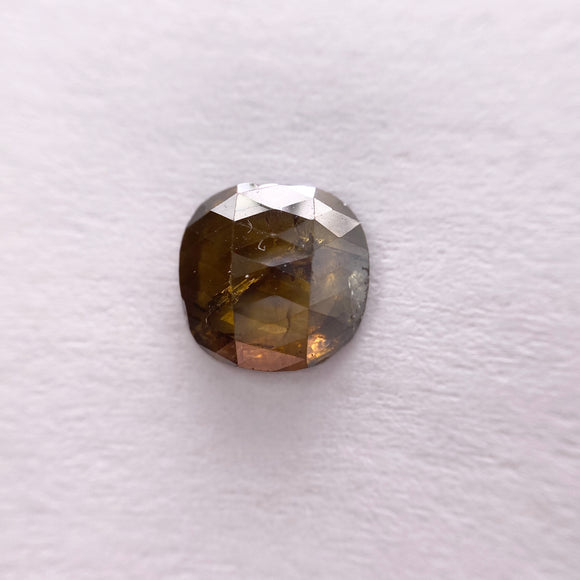 1.41ct 7.66x7.51mm Cushion Shape Slice Cut CH1038