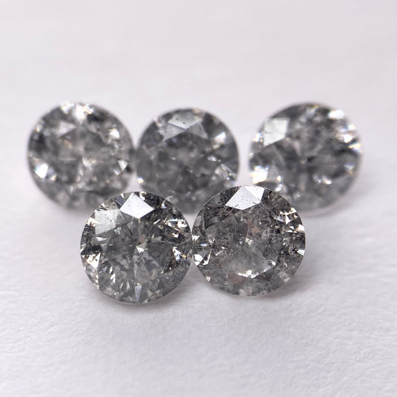 1.50ct 4.2mm 5pc Round Brilliant SL-ML-42
