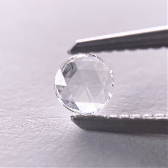 0.16ct 4.00mm White Round Rosecut RR-RC-4/1
